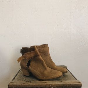 Free People Belleville Leather Ankle boots